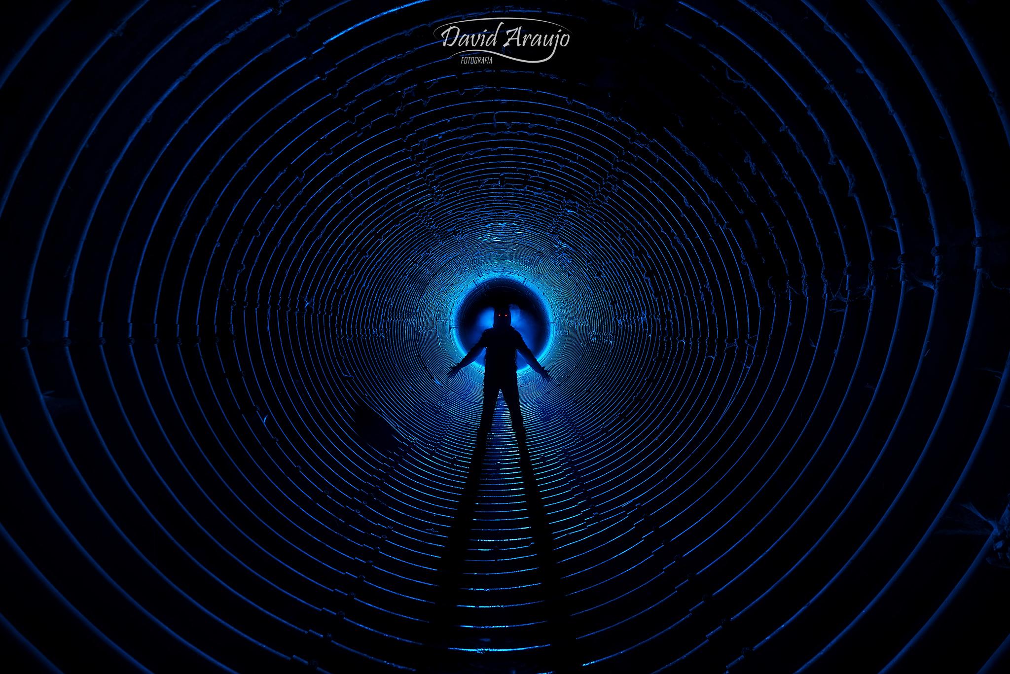 Bluish Tunel
